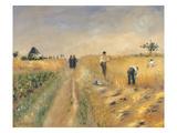 Die Schnitter, 1873 Prints by Pierre-Auguste Renoir