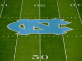 University of North Carolina: Kenan Stadium Field Fotografisk tryk