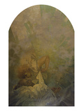 The Kiss of Spring 1933 Giclee Print by Alphonse Mucha