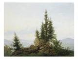Blick in Das Tal Der Elbe, 1807 Giclee Print by Caspar David Friedrich