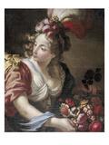 Flora, um 1760 Prints by Giambettino Cignaroli