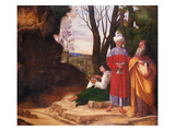 The Three Philosophers, 1508/09 Giclee Print by called Giorgione, Giorgio da Castelfranco