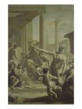 Einfuehrung in Den Tempel Der Schoenen Kuenste Poster by Adriaan van der Werff