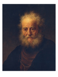 Study to the Painting &Quot Giclee Print by  Rembrandt van Rijn