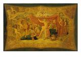 Bacchus Unter Den Musen, 1868 Prints by Buonaventura Genelli