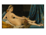 La Grande Odalisque, 1814 Giclee Print by Jean-Auguste-Dominique Ingres