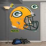 Green Bay Packers Revolution Helmet Wall Decal