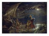 Peter Walks on Water, 1806/07 Impression giclée par Philipp Otto Runge