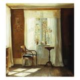 Fensterplatz Im Hause Des Kuenstlers in Lyngby Giclee Print by Carl Holsoe