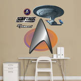 Star Trek Insignia: The Next Generation Fathead Jr. Wall Decal