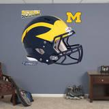 Michigan Wolverines Helmet Wallstickers