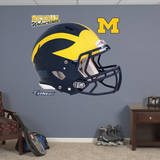 Michigan Wolverines Helmet Wall Decal