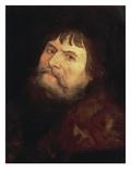 Self Portrait, about 1550 Prints by Lucas Cranach the Elder