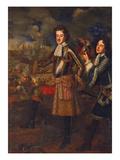 Kurfuerst Max Emanuel Von Bayern Bei Der Belagerung Von Belgrad Giclee Print by #N/A Gascar