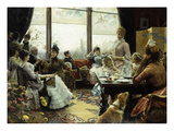 Five O'Clock Tea Poster von Julius Leblanc Stewart