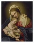 The Madonna and Child Prints by  Giovanni Battista Salvi da Sassoferrato