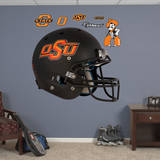 Oklahoma State Cowboys Black Helmet Wall Decal