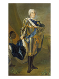 August the Strong, King of Poland and Saxony Giclee Print by Louis de Silvestre