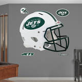 New York Jets Revolution Helmet Wall Decal