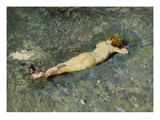 A Nude on the Beach Giclee Print by Mariano Fortuny y Marsal