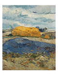 Haystacks on a Rainy Day, Auvers-Sur-Oise. July 1890 Giclee Print by Vincent van Gogh