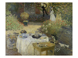 The Luncheon (Monet's Garden at Argenteuil), about 1873 Giclee Print by Claude Monet