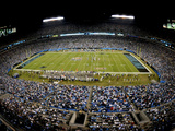 Carolina Panthers - Sept 20, 2012: Bank of America Stadium Photo av Mike McCarn