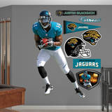 Justin Blackmon Wall Decal