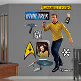 Star Trek - Captain James T. Kirk Wall Decal