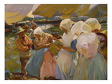 Fischerwomen on the Beach, 1903 Giclee Print by Joaquín Sorolla y Bastida