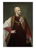 Portraet Kaiser Franz Joseph, 1880 Giclee Print by Johann Herrman
