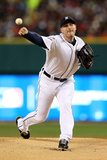 Detroit, MI - October 28: Detroit Tigers v San Francisco Giants - Max Scherzer Photographic Print by Ezra Shaw