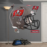 Tampa Bay Buccaneers Revolution Helmet Wall Decal