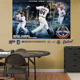 Miguel Cabrera AL Triple Crown Mural Wall Decal