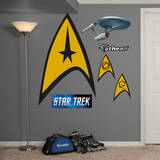 Star Trek Insignia: The Original Series Wall Decal