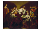 Nocturnal Concert (The Prodigal Son) Giclee Print by Jean Leclerc