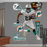 Reggie Bush Wall Decal