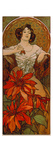 Edelsteine: Rubin, 1900 Giclee Print by Alphonse Mucha