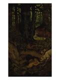 Nymps in the Forest Spring, ca. 1846 Giclée-Druck von Moritz Von Schwind