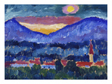 Mountain Village, 1910 Prints by Alexej Von Jawlensky