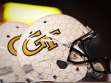 Georgia Institute of Technology: Georgia Tech Football Helmet Plakater