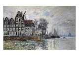 Ansicht Von Amsterdam (Het Kamperhoofd), um 1874 Prints by Claude Monet