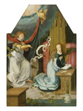 Annunciation Giclee Print by Lucas van Leyden