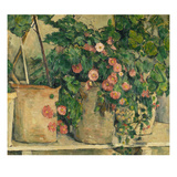Still Life with Petunias, about 1885 Giclee Print by Paul Cézanne