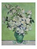 Vase with White Roses, 1890 Giclée-tryk af Vincent van Gogh