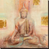 Buddha I Stretched Canvas Print by Elvira Amrhein