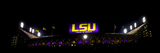 Louisiana State University: LSU's Tiger Stadium Night Game Panorama Photographic Print