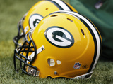 Green Bay Packers - Sept 24, 2012: Green Bay Packers Helmet Photographic Print by Ted S. Warren