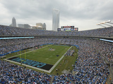 Carolina Panthers - Sept 16, 2012: Bank of America Stadium Photo av Rainier Ehrhardt