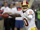 Washington Redskins - Sept 16, 2012: Robert Griffin III Photographic Print by Seth Perlman